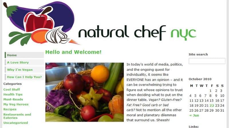 NaturalChefNYC.com