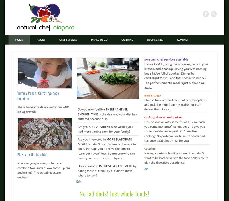 NaturalChefNiagara.com