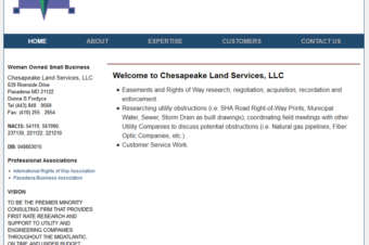 ChesapeakeLandServices.com